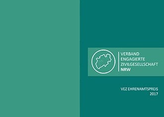 Broschüre Ehrenamtspreis 2017